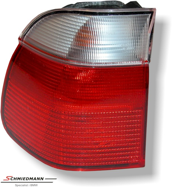 Taillight outer part red/white L.-side