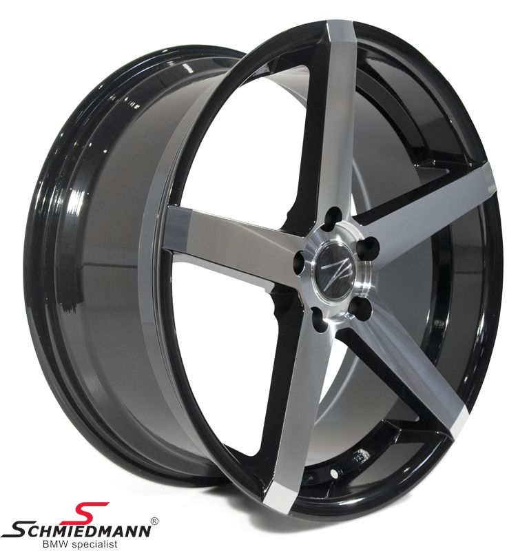 "20"" Z-Performance -Type 6- rim 8,5x20 ET35, Phantom Black FP polished"