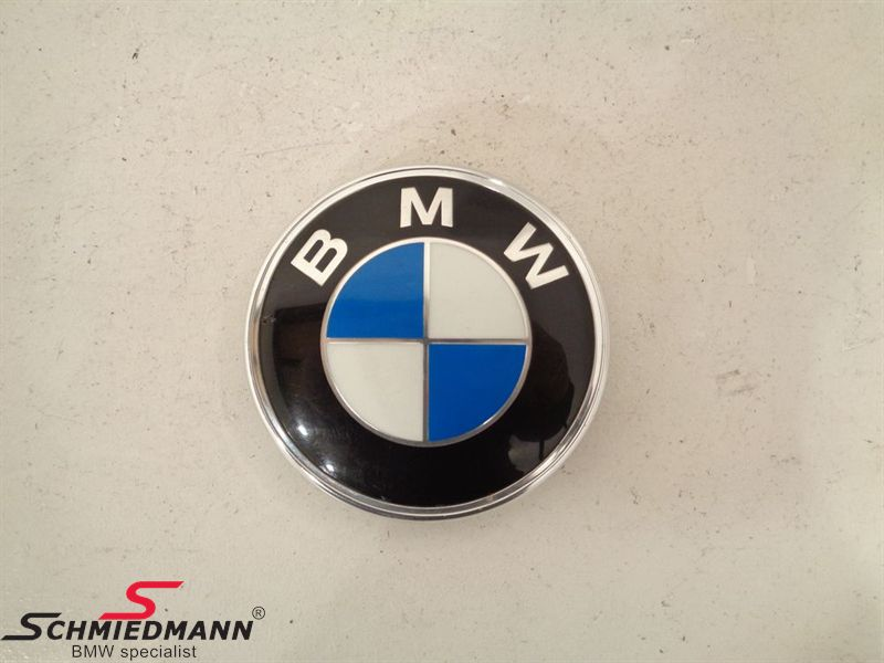 Plaque trunklid BMW