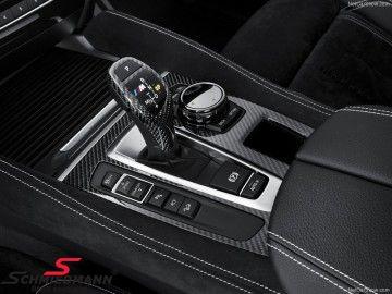 Blende Mittelkonsole original -BMW ///M Performance- echt Carbon