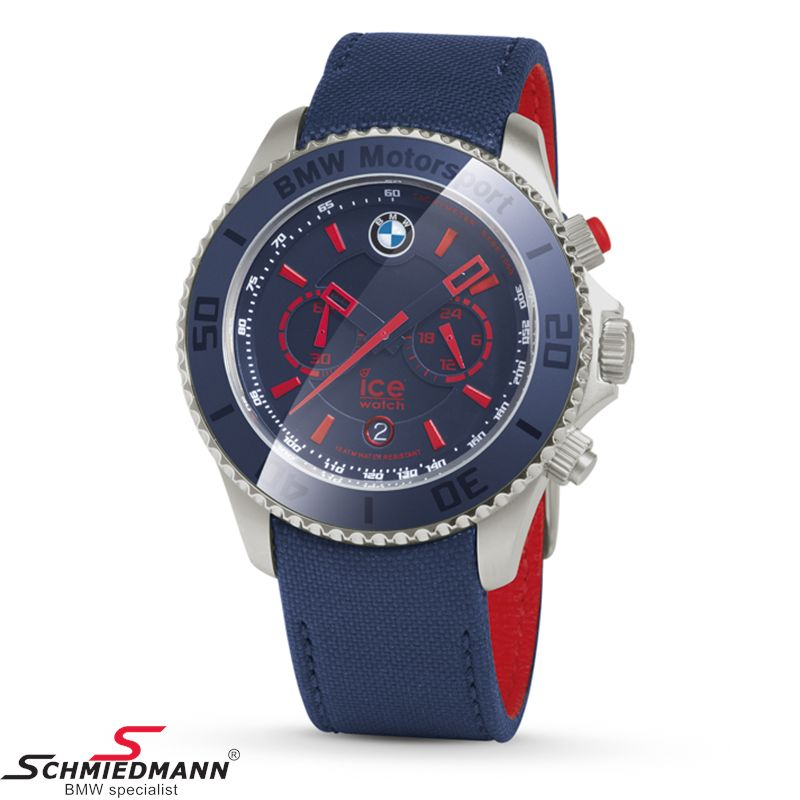 BMW Motorsport ICE Watch Steel Chrono