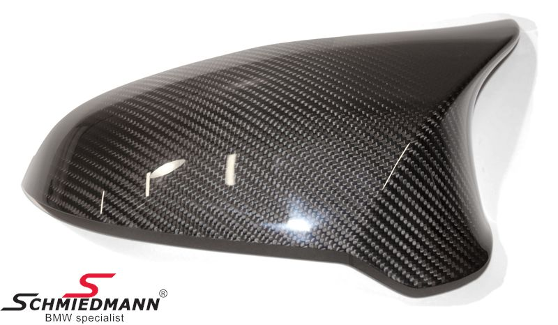 Sidespejl-cover -///M-Performance- original BMW ægte carbon H.-side