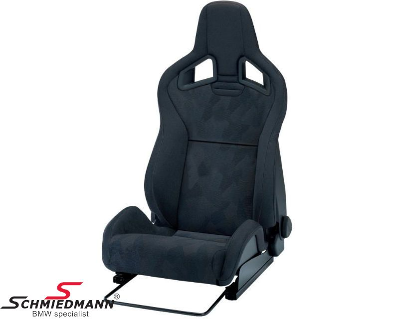 Recaro Cross Sportster CS with seat heat Aristo/Nardo black left side (drivers side)