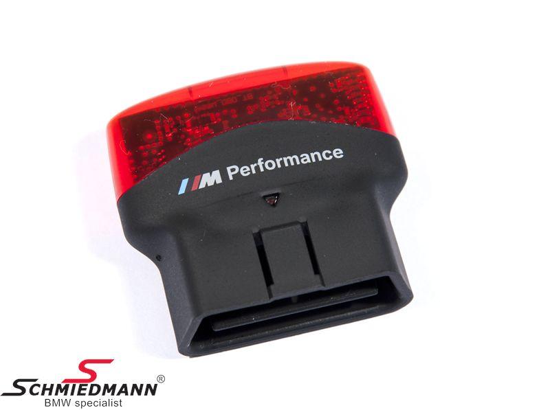 BMW M Performance Drive Analyser IOS - direkte til at sætte i OBD stikket - download en app og så har du et rigtigt race-instrument