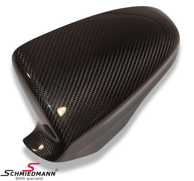 -///M-Performance- hiilikuituinen sivupeilin kuori - alkuperäinen BMW - vasen