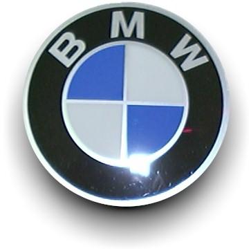 BMW 36136758569 / 36-13-6-758-569  Emblem Ø70MM
