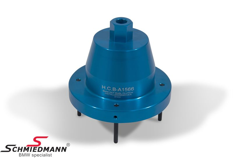 Special tool for removal/installation of DCT clutches (double clutch  transmission)