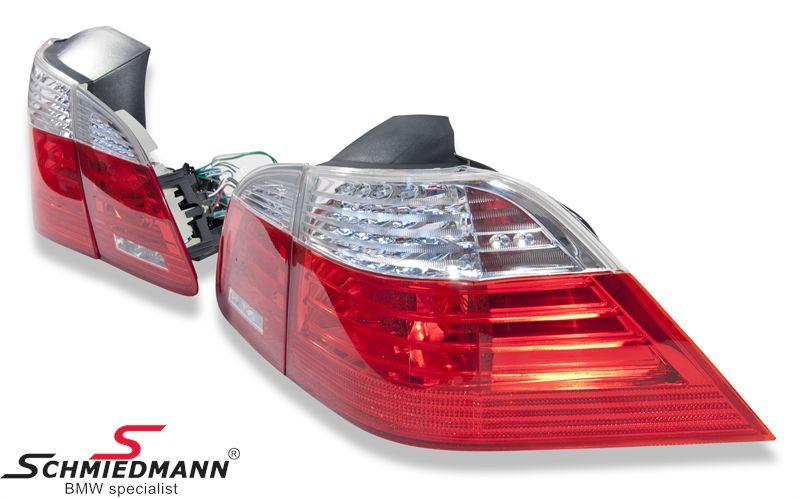 Baglygter facelift rød/hvide LED-teknik også i blinket