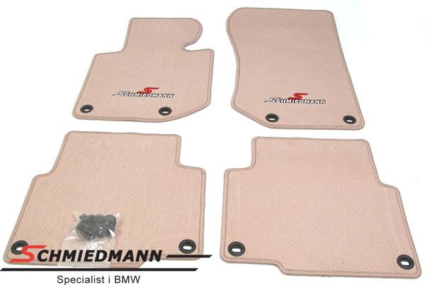 Schmiedmann -Sport edition-, kangasmattosarja, eteen/taakse, beige