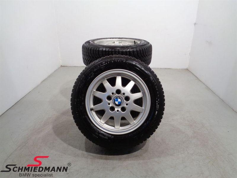 "15"" Alu wheels with winthertyres ""BMW Styl.28"""
