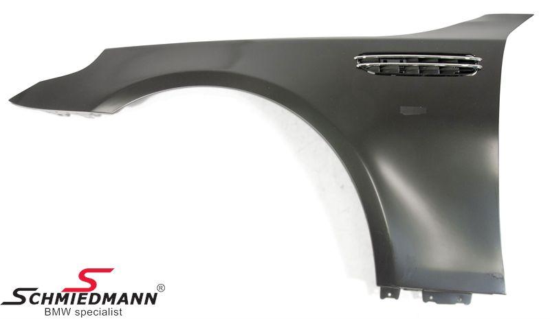 Fender steel with airintake, L.-side