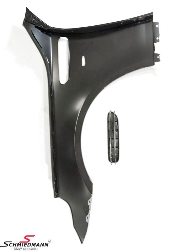 Fender steel with airintake, R.-side