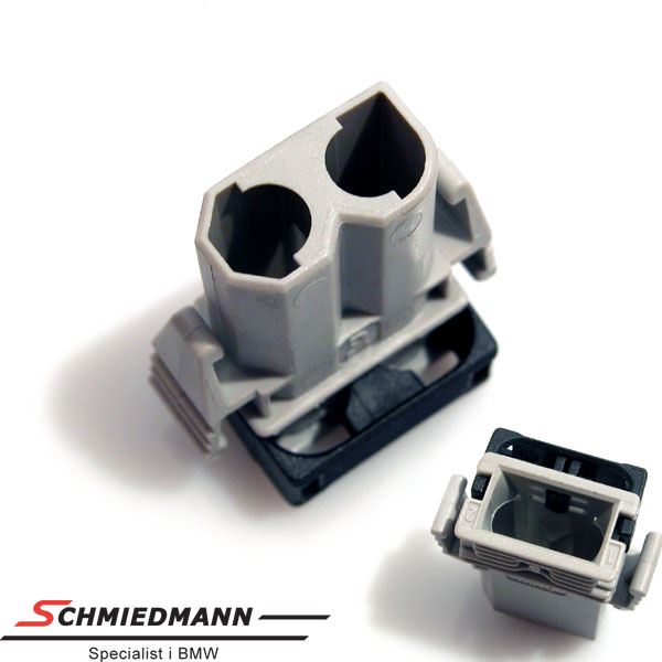 Plug for socket bulb side-indicator 2 pol.