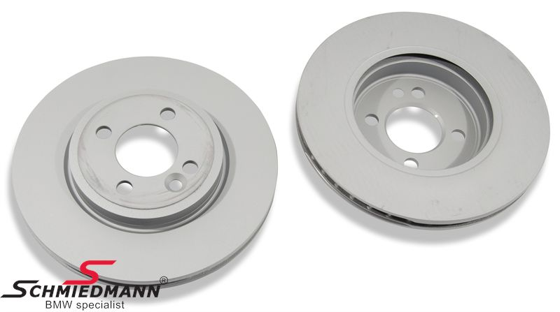 Brake disk front 280X22MM - ventilated