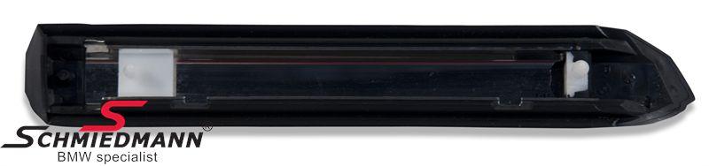 Moulding front fender black R.-side