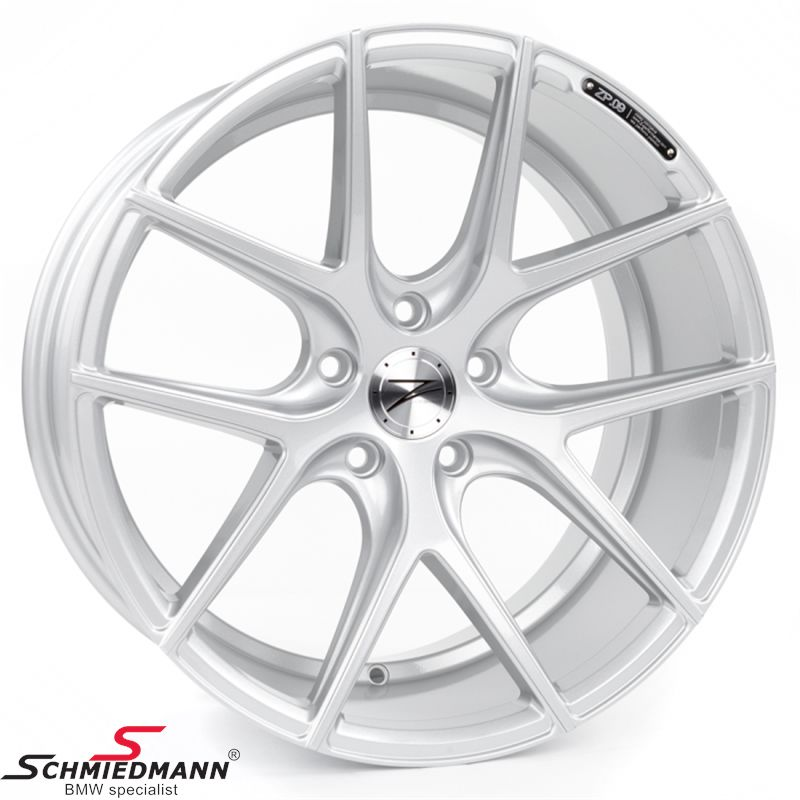 "20"" Z-Performance -Type 9- rim 10x20 ET35, Sparkling Silver (fits only rear)"