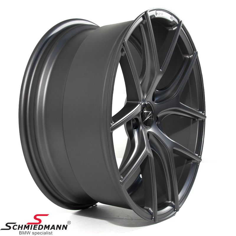 "20"" Z-Performance -Type 9- rim 10x20 ET35, Matte Gun Metal (fits only rear)"