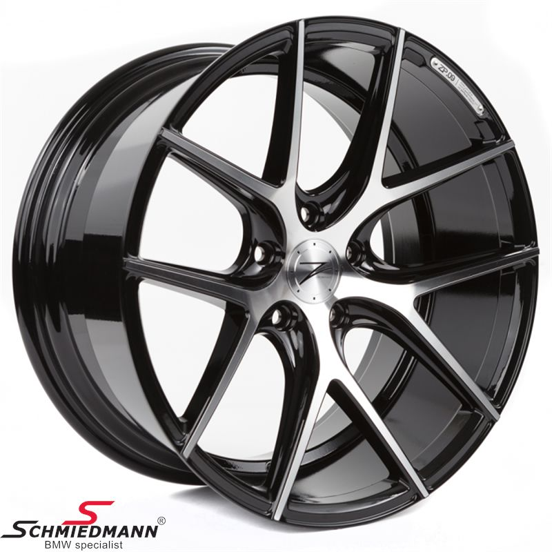 "20"" Z-Performance -Type 9- rim 8,5x20 ET30, Phantom Black FP polished"