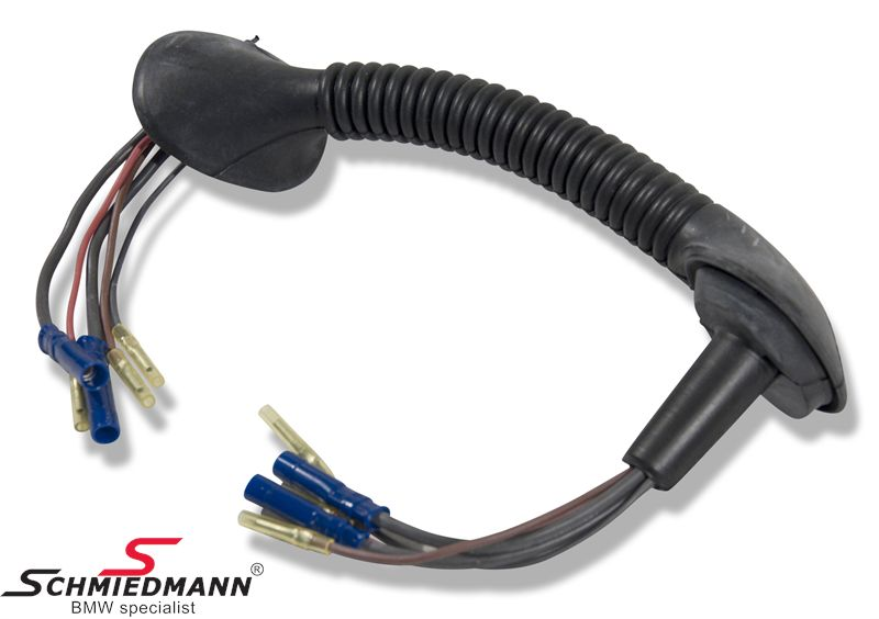 bmw e46 harness and harness repair kits for the trunk lid rh schmiedmann com 2003 BMW 325I Wiring Harness BMW Stereo Wiring Harness