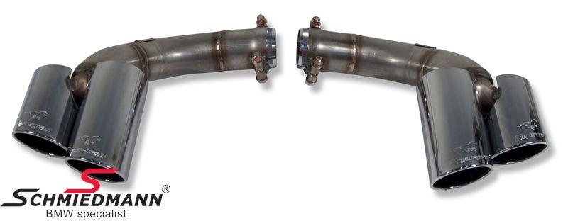 Supersprint rørhaler 4xØ90mm.