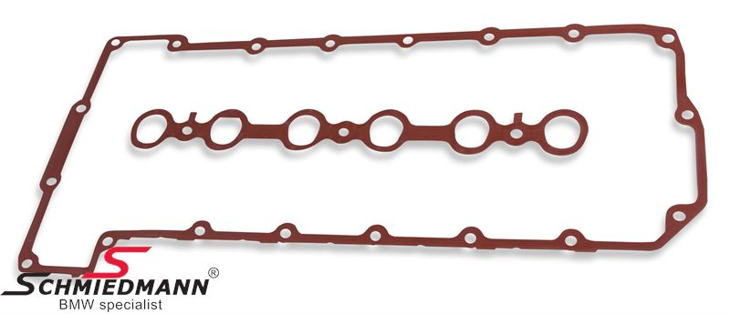 Cylinderheadcover gasket set (please note: the cylinderheadcover alloy screws can only be used one time, so please replace these to)