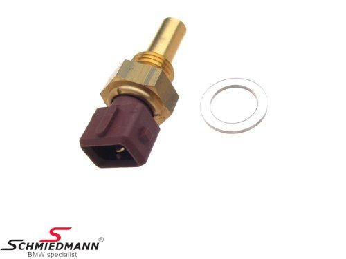 Water temperature sensor for indication instrument cluster