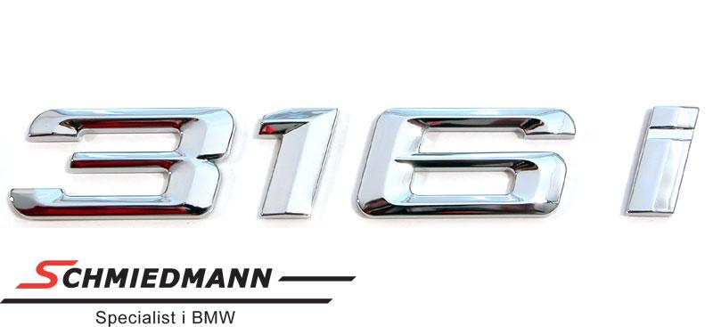 """Emblem koffertlokk """"316I"""""""
