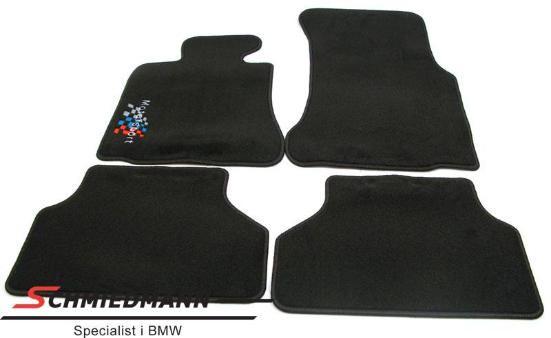 Lattiamatot eteen/taakse -Motorsport- logolla