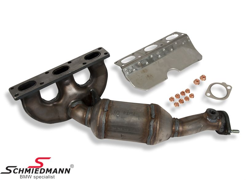 Bmw X5 E53 Exhaust System And Mounting Parts Schmiedmann New Parts