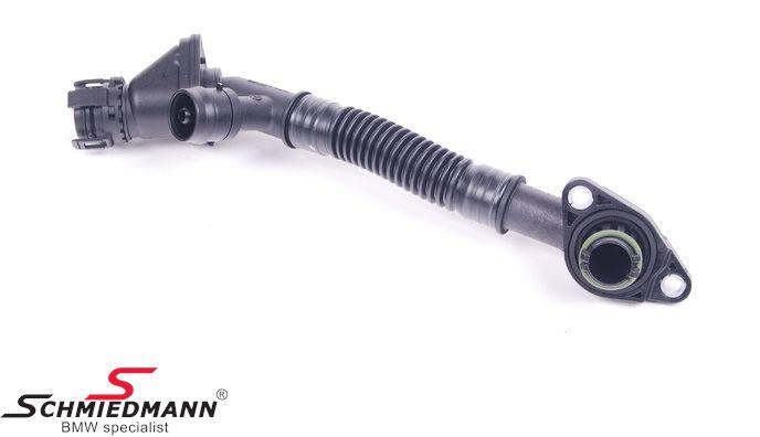 Hose for crankcase ventilation, upper cylinder 5-8