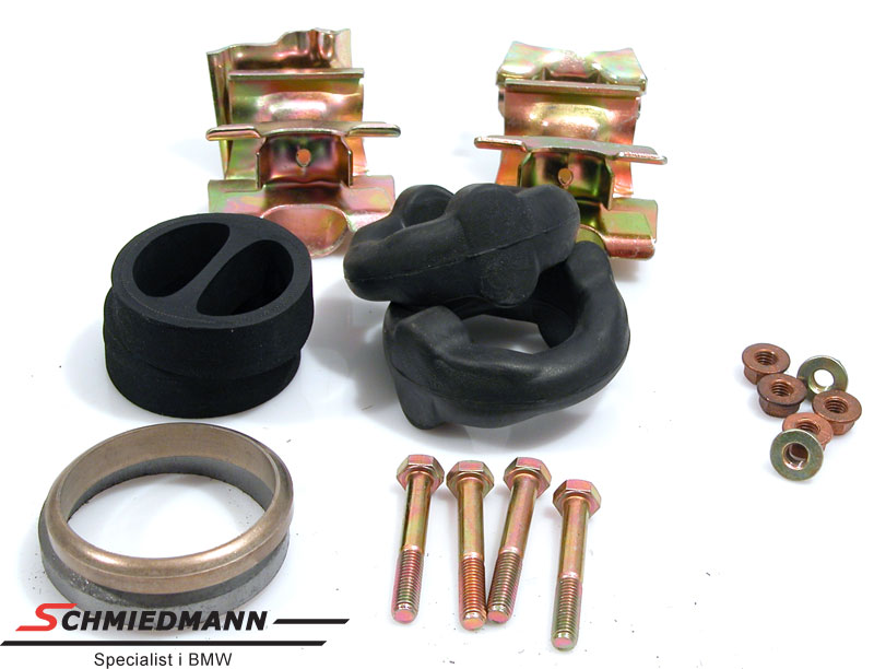 Mounting parts set exhaust M70