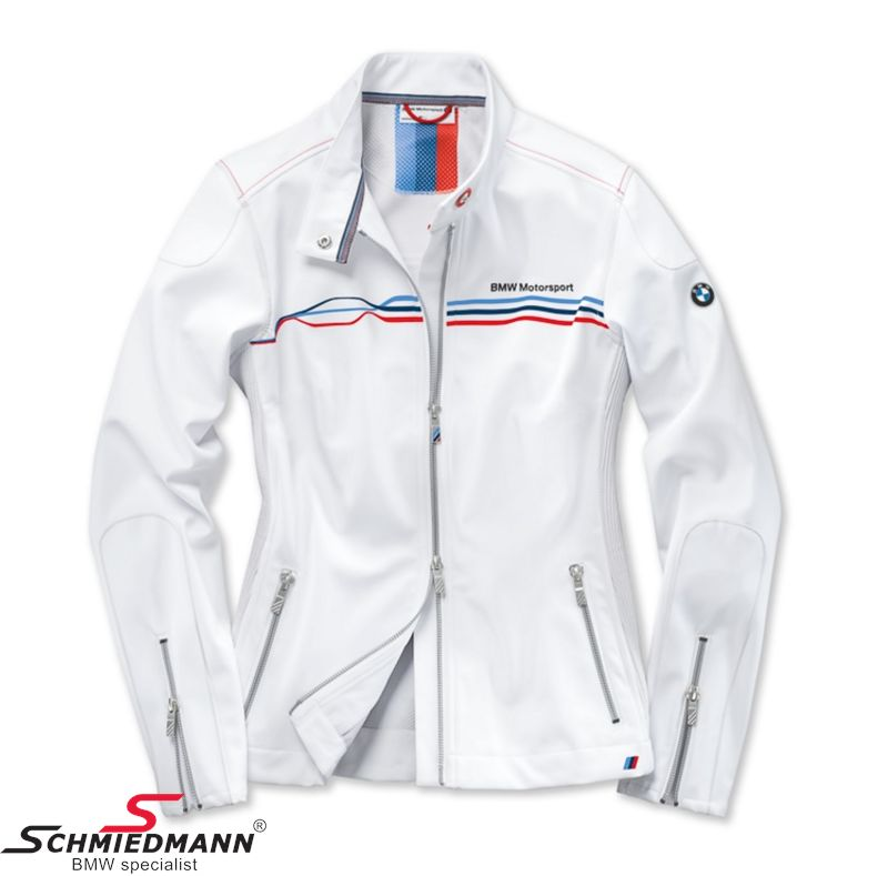 Ladies' Softshell Jacket -BMW Motorsport- Str. L