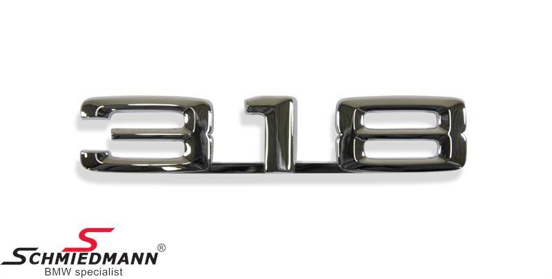 """Emblem trunk lid """"318"""""""