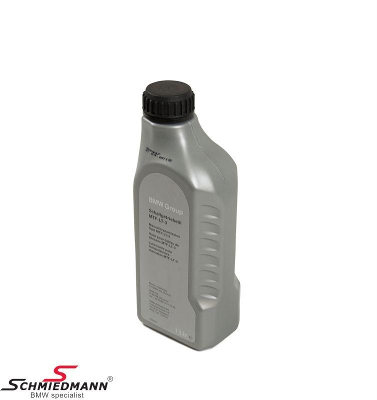 Manual Transmission Oil Original BMW MTF LT-3 1litre Can