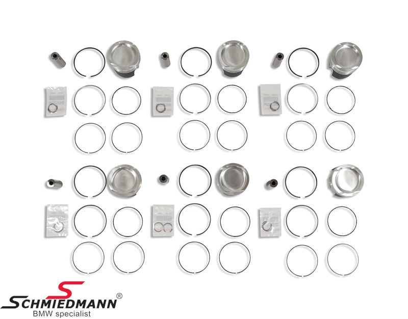 BMW E36 - Turbo conversion racing pistons - Schmiedmann - New parts