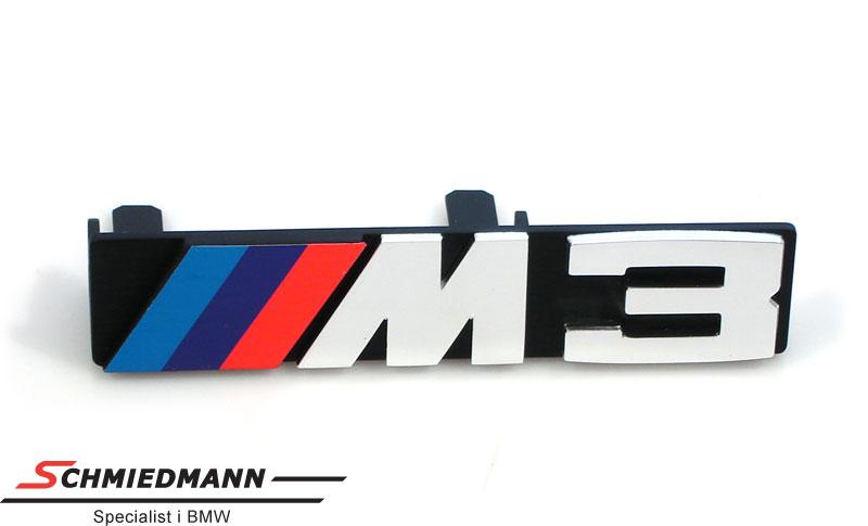 Emblem M3 til frontgrillen
