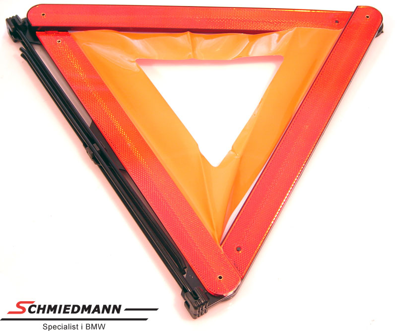 Warning triangle for the original on board tool box