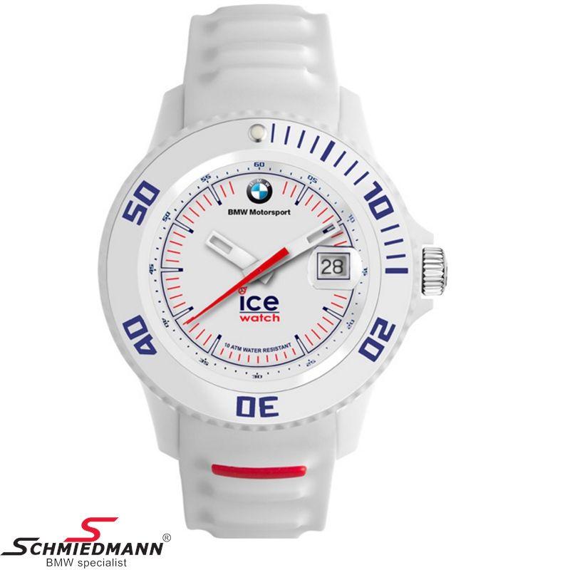 BMW Motorsport ICE Watch Sili white, unisex
