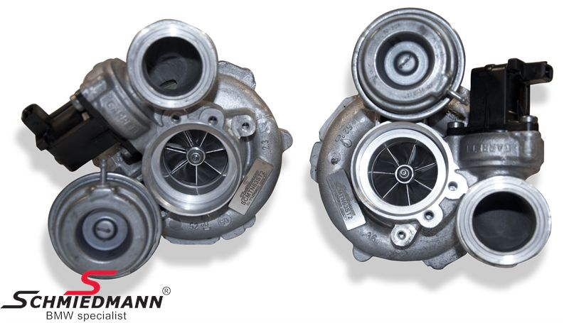 Schmiedmann signature stage 2 ombytnings turbo-kit op til 800HK