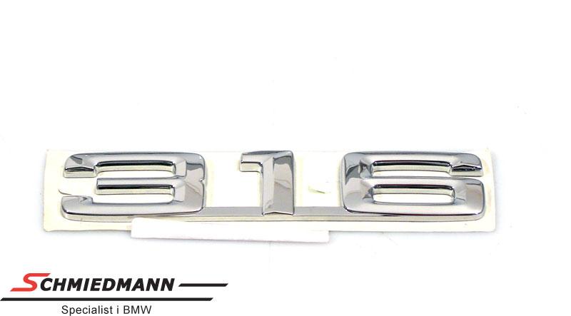 """Emblem trunk lid """"316"""""""