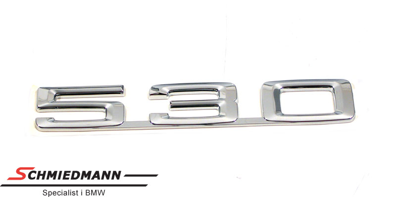 """Emblem trunk lid """"530"""""""