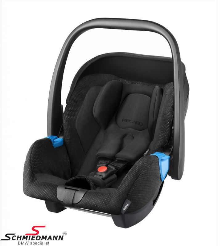 Child seat original Recaro -Privia- Black, 0-13Kg. (Can be used with or without Recaro Isofix base)