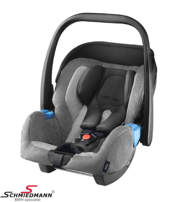 Child seat original Recaro -Privia- Shadow, 0-13Kg. (Can be used with or without Recaro Isofix base)