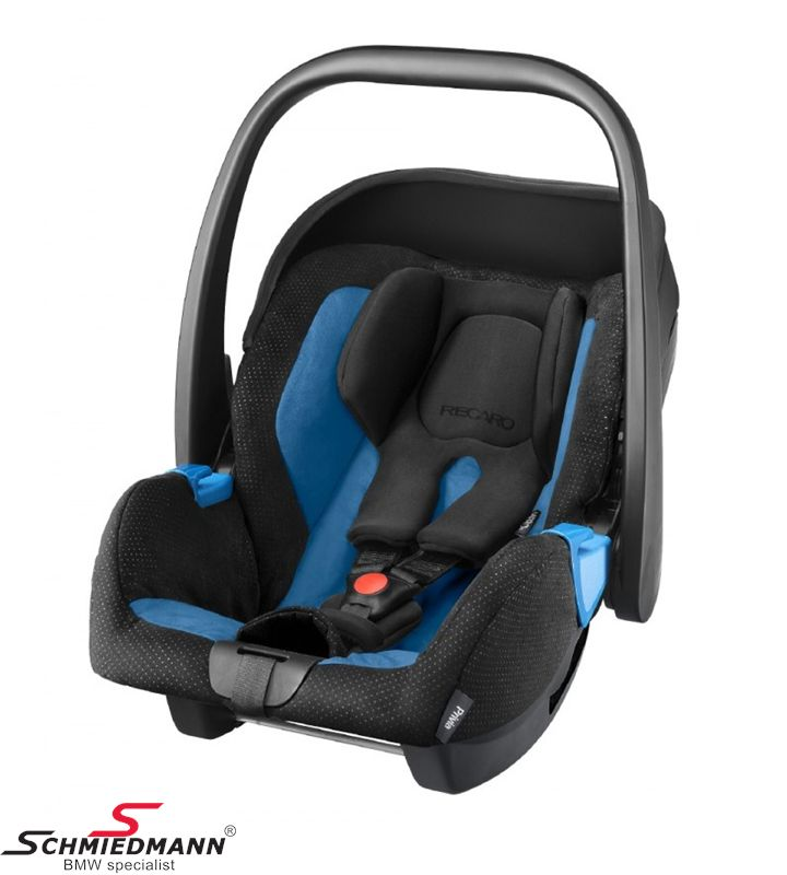 Child seat original Recaro -Privia- Saphir, 0-13Kg. (Can be used with or without Recaro Isofix base)