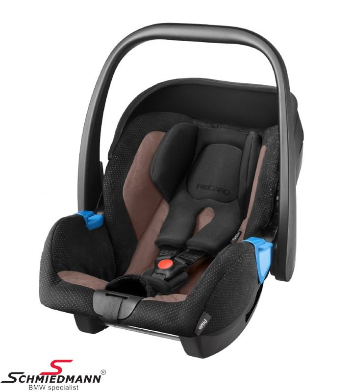 Child seat original Recaro -Privia- Mocca, 0-13Kg. (Can be used with or without Recaro Isofix base)