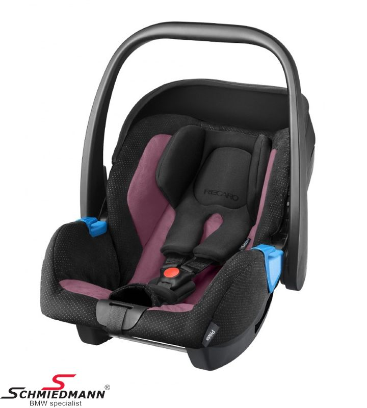 Child seat original Recaro -Privia- Violet, 0-13Kg. (Can be used with or without Recaro Isofix base)