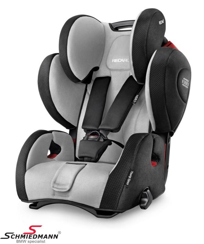 Child seat original Recaro -Young Sport Hero- Graphite, 9-36kg. (without Isofix)
