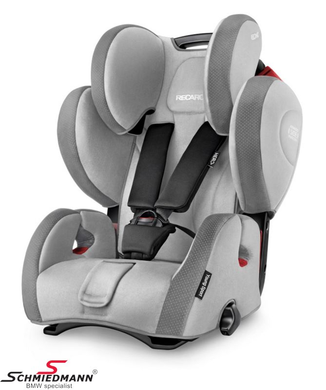 Child seat original Recaro -Young Sport Hero- Shadow, 9-36kg. (without Isofix)