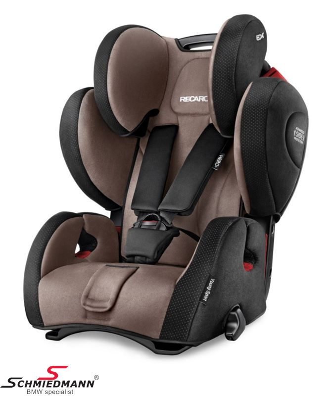 Child seat original Recaro -Young Sport Hero- Mocca, 9-36kg. (without Isofix)