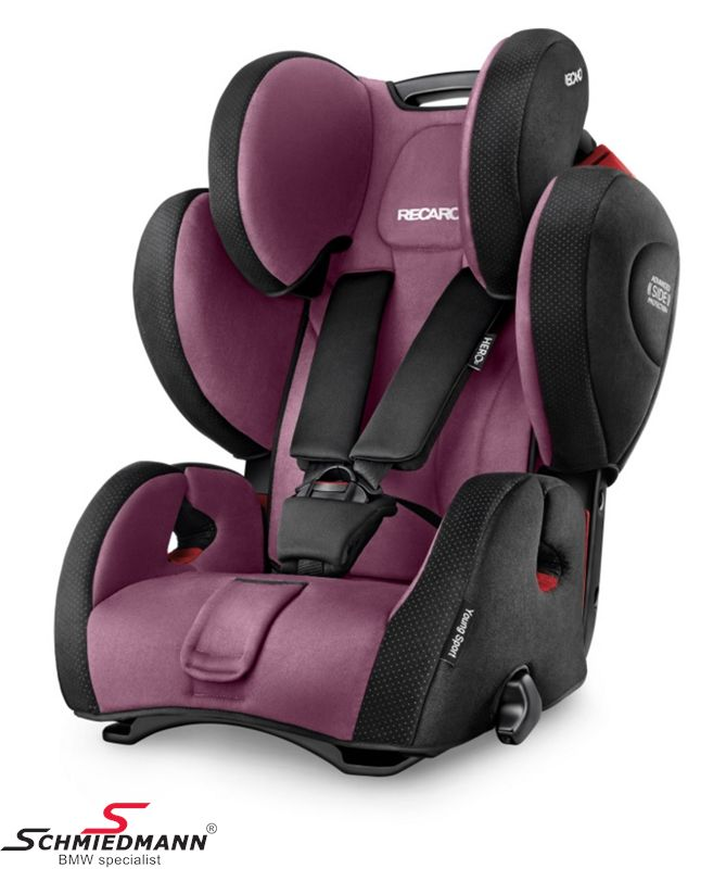 Child seat original Recaro -Young Sport Hero- Violet, 9-36kg. (without Isofix)